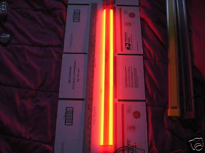"28""red~Neon~Cold Cathode~Light~Ground Effect~Hood?$98+"