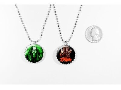 ROB ZOMBIE - 2 sided necklace
