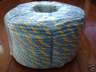TELSTRA ROPE 50 METRES, 6mm STRONG 590kg *High Quality*