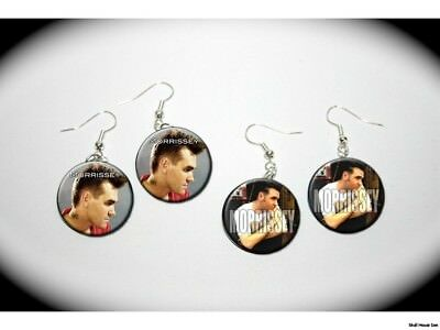MORRISSEY 2 pairs of button charm EARRINGS