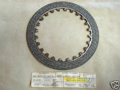 Friction Plate(Clutch) for Yamaha XC180