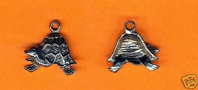 100 wholesale lead free pewter turtle charms 1015