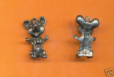 100 wholesale lead free pewter mouse charms 1024