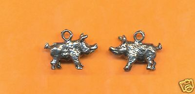 20 wholesale lead free pewter horse charms 1033