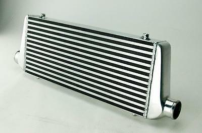 "2.25"" FRONT MOUNT UNIVERSAL TURBO INTERCOOLER 550MM x 220MM x 65MM"