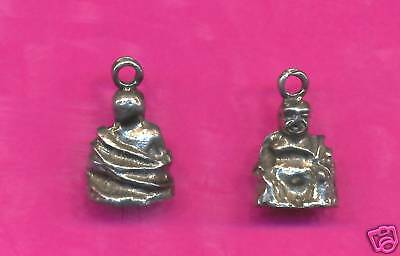 100 wholesale lead free pewter buddha charms 1218