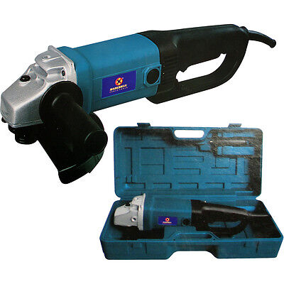 """9"""" Inch Electric Angle Corded Grinder 230Mm 2000W 6000 Rpm In Blowcase"""