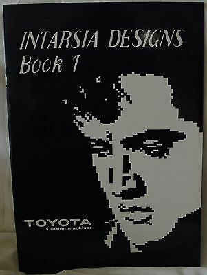 Intarsia Design Book 1- Knitting Machine Includes Elvis Elephant Horse Lion M669