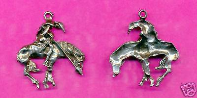 12 wholesale pewter end of the trail pendants 5045