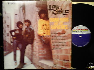 DIANA ROSS and the SUPREMES Love Child LP NM