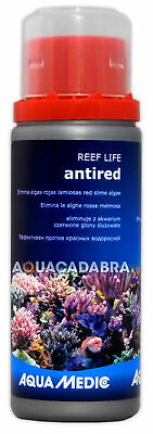 AQUA MEDIC ANTI-RED 100ml SLIME RED ALGAE MARINE FISH TANK ANTIRED TREATMENT