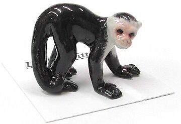 little Critterz Porcelain Miniature Capuchin - LC411 (Buy 5 get 6th free!)