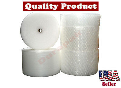 """1/2"""" Thick 48""""  Wide 250 ft Air Bubble Cushioning Wrap Secure Cushion Wrapping"""