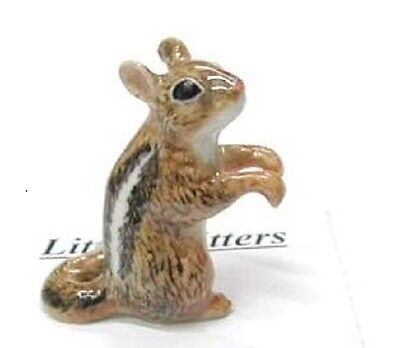 little Critterz Porcelain Miniature Chipmunk - LC111 (Buy 5 get 6th free!)