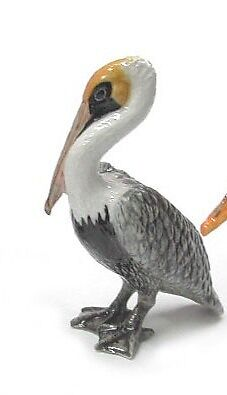 R275C Northern Rose Porcelain Miniature -Brown Pelican