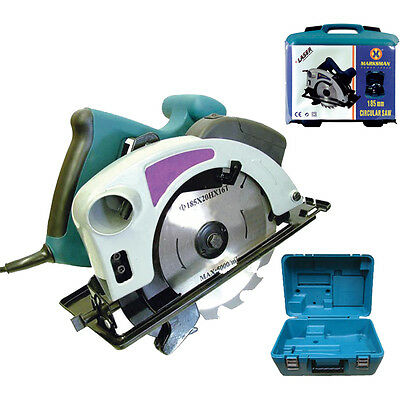185 Electric Circular Saw With Laser In Case Electrical