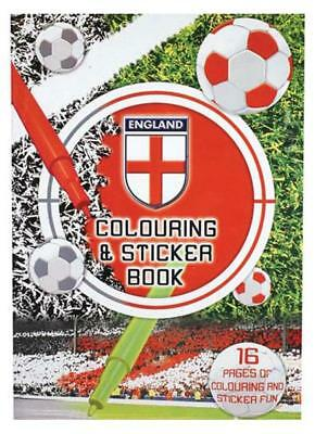 96 England Colouring-Sticker-Press Out Activity Books