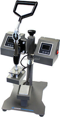 "Ai 3x2"" Swing-Away Rosin Heat Press with Dual Heating Platens Element LCD Screen"