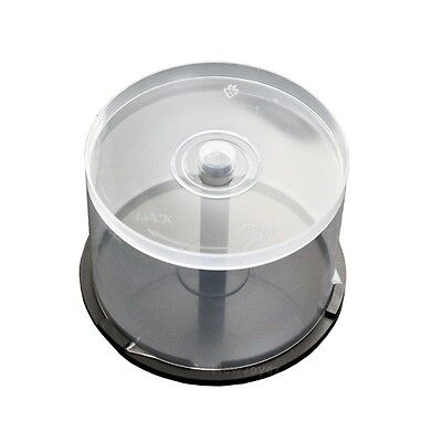 10*50 Disc CD DVD R Disc Storage Cake Box Case Spindle