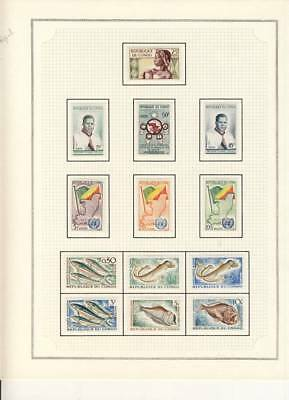 Belle Collection - Lot Timbres Du Congo Cote + 578 €