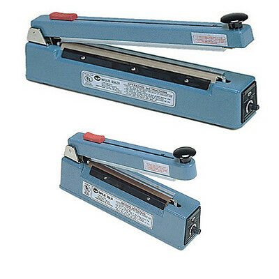 """12"""" Impulse 2 mm Flat Wire Hand Sealer with Cutter Heat Seal Bag + Cut Plastic"""