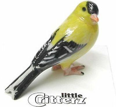 Little Critterz Miniature - Goldfinch - LC553 (Buy 5 get 6th free!)