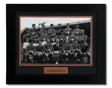 Manchester United 1968 European Cup 'Hand Signed' by 8