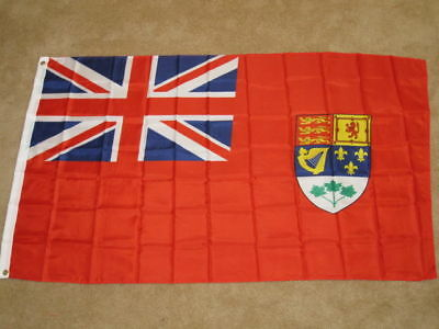 Old Canada Red Ensign Pre 1965 Canadian Naval Flag F954