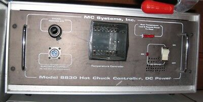MC Systems Model 8830 Hot Chuck Controller Unit