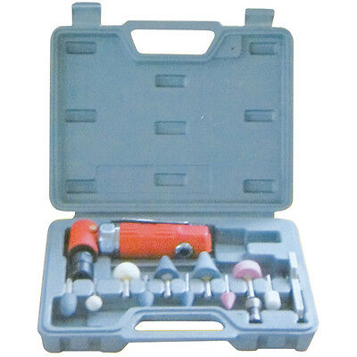 15 Pc Professional Angle Die Grinder Kit In Case C6121