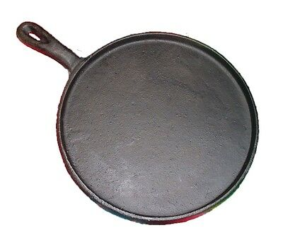 HEAVY DUTY Tortilla Griddle Comal, Cast Iron 8 Inches
