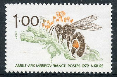 Stamp / Timbre France Neuf N° 2039 ** Nature Faune Abeille