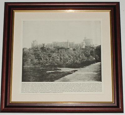 Dated 1892 and over 125 years old Windsor Castle x