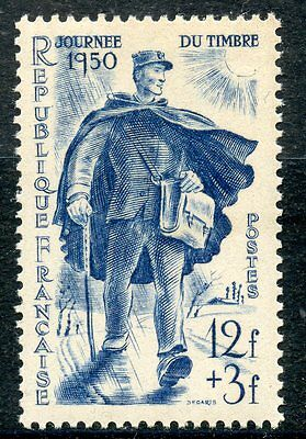 Stamp / Timbre France Neuf Luxe ** N° 863 Facteur Rural