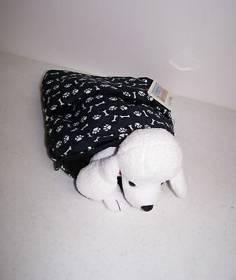 """10"""" New Animal Alley Plush Backpack Poodle Carrier w/Ta"""