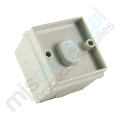 Weatherproof Single Switch One Gang Weather Proof IP56 Rated NEW Electrical