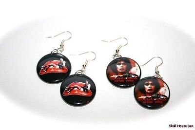 ROCKY HORROR PICTURE SHOW- 2 pairs of EARRINGS