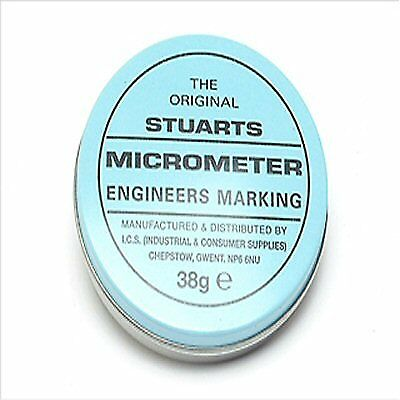 Stuart Engineers Micrometer Blue Marking 38 gram Tin.