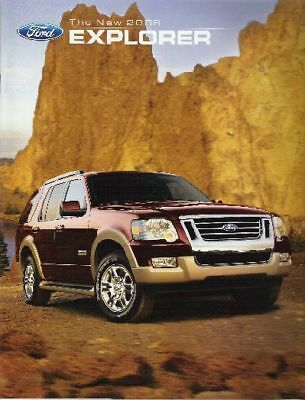 Mint Condition 2006 FORD EXPLORER  BROCHURE 06