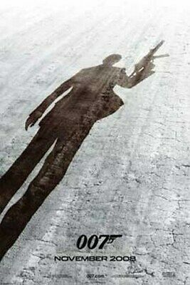 JAMES BOND MOVIE POSTER Quantum of Solace TEASER 24X36