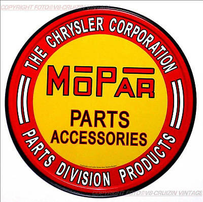 * Mopar Chrysler Dodge Plymouth Service Dealer Sign Reproschild Poster *280