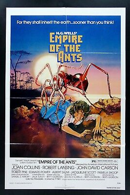 EMPIRE OF THE ANTS * 1SH ORIG MOVIE POSTER 1977