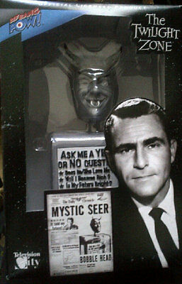 "Twilight Zone ""mystic Seer"" Bobble Head Doll"