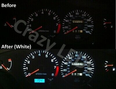 Nissan 200SX S13 / S14 LED speedometer clocks colour conversion kit