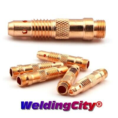 "5-pk TIG Welding Collet Body 10N28 (1/8"") Torch 17/18/26 