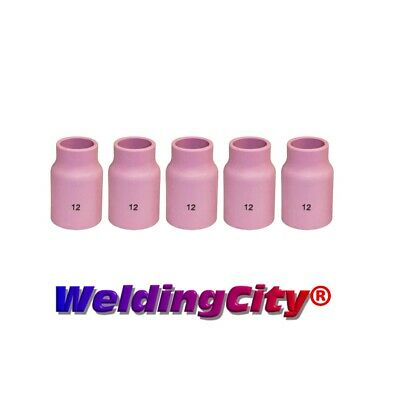 5-pk TIG Welding Large Gas Lens Ceramic Cup 53N87 #12 | US Seller Fast Ship