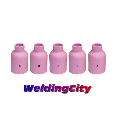 5-pk TIG Welding Large Gas Lens Ceramic Cup 57N74 #8 | US Seller Fast Ship