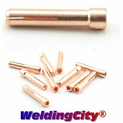 "5-pk TIG Welding Stubby Collet 10N24S 3/32"" Torch 17/18/26 