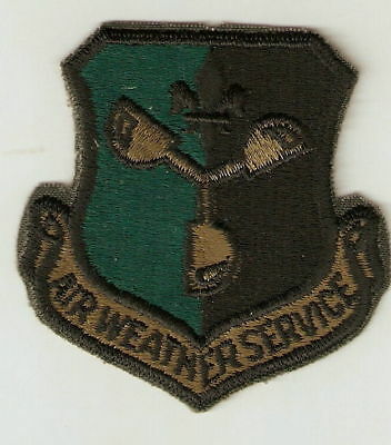 Air Weather Service Subdued Air Force Patch