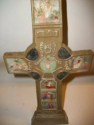 """Classic Treasures Collectable Easter Cross, 14"""""""